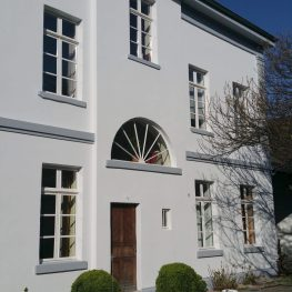 Renovierte Fassade